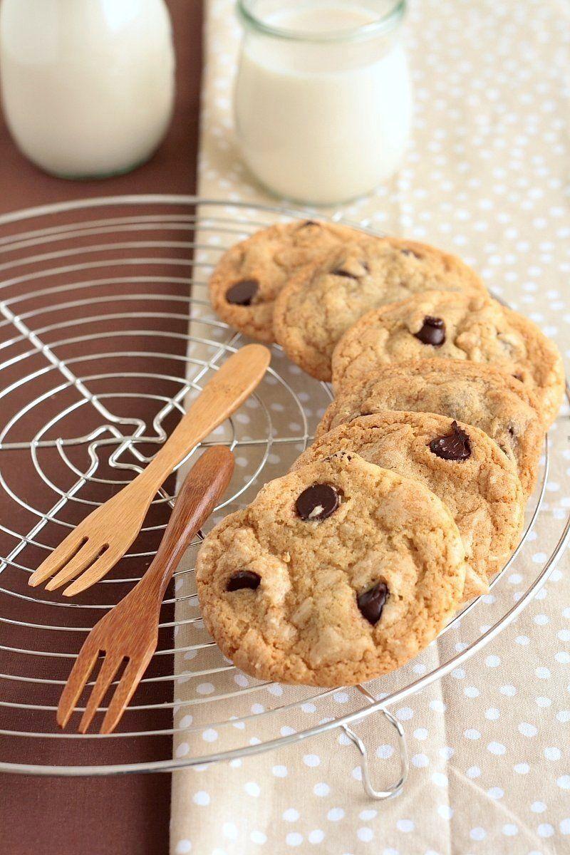 Vegan Chocolate Chip Cookies from the cookbook Vegan Cookies Invade Your Cookie Jar