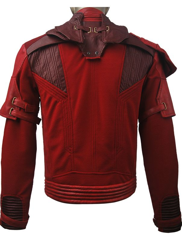 Unisex Guardians of the Galaxy Vol 2 Peter Quill Star-Lord jacket - team halloween costume ideas