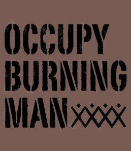 Occupy Burning Man T-Shirt