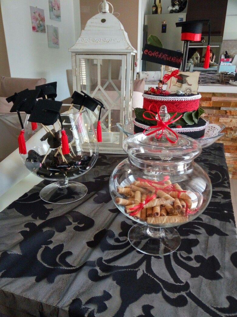 Addobbi Tavola Per Halloween addobbi tavolo laurea torta in pannolenci | laurea, festa di