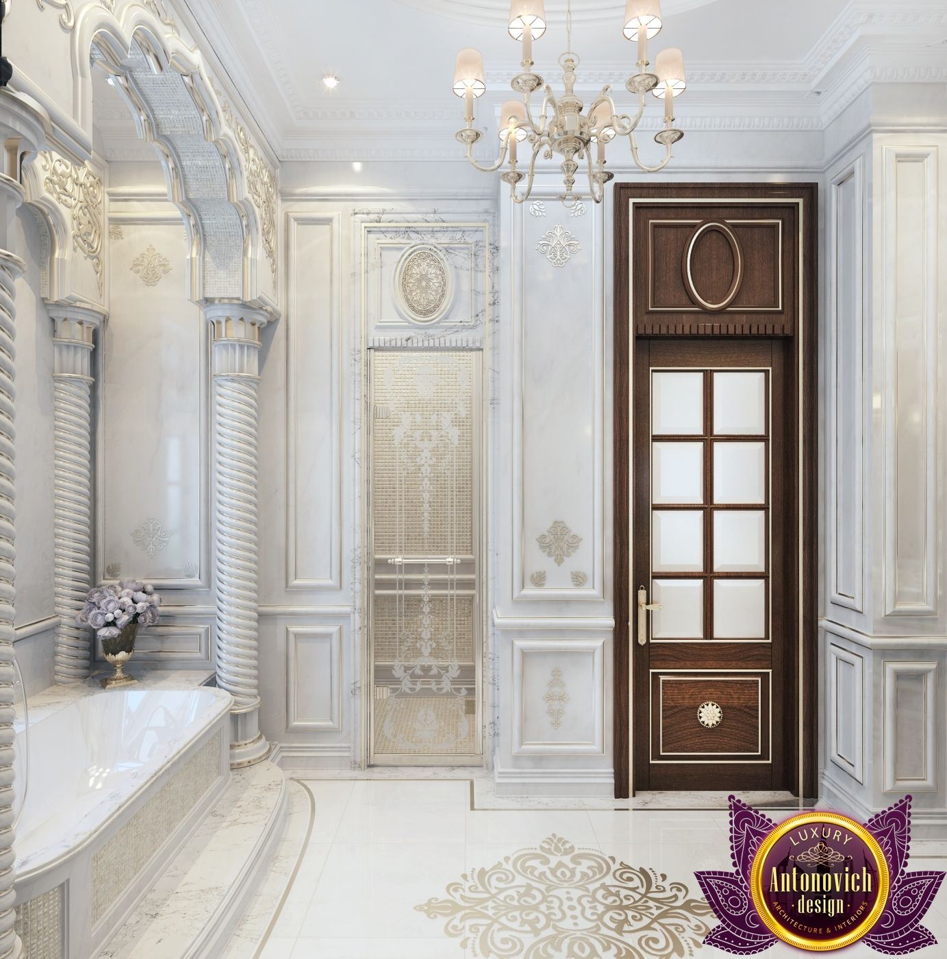 Bathroom Design in Dubai, Luxury Bathroom Design, Photo 3 | Luxury ...