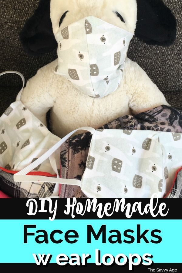 Photo of Easy Homemade Face Mask {Printable Pattern}