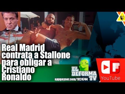 Real Madrid contrata a Stallone para obligar a Cristiano Ronaldo