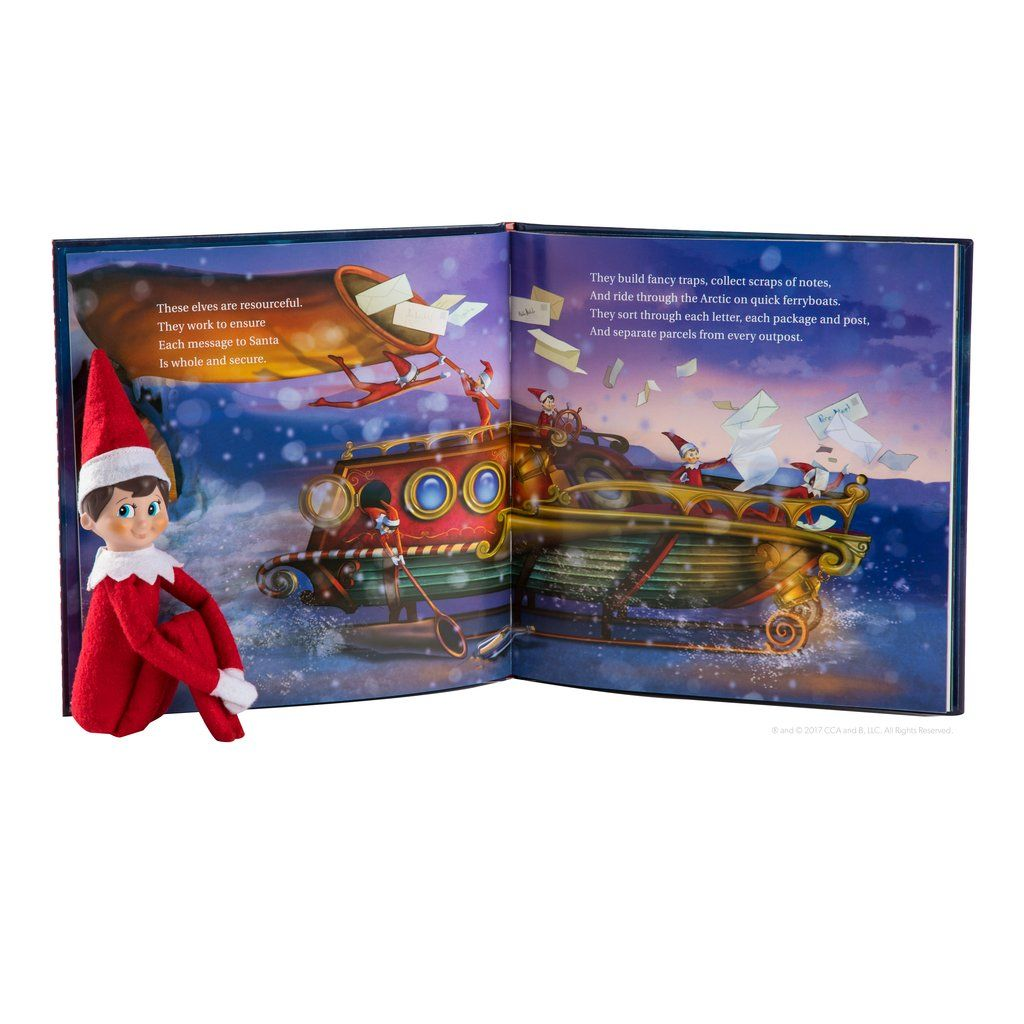 Scout Elf Express Delivers Letters to Santa® (With images