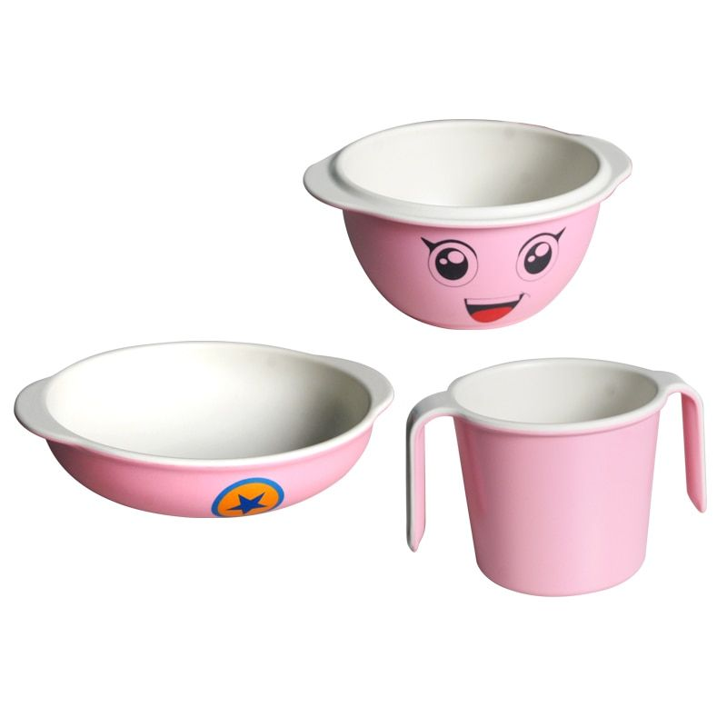Children Dishes Bamboo Tableware Dishes Baby Food Bowl Baby Feeding Dishes For Children Kids Plate Child Dish C Baby Feeding Dishes Baby Food Bowl Baby Feeding