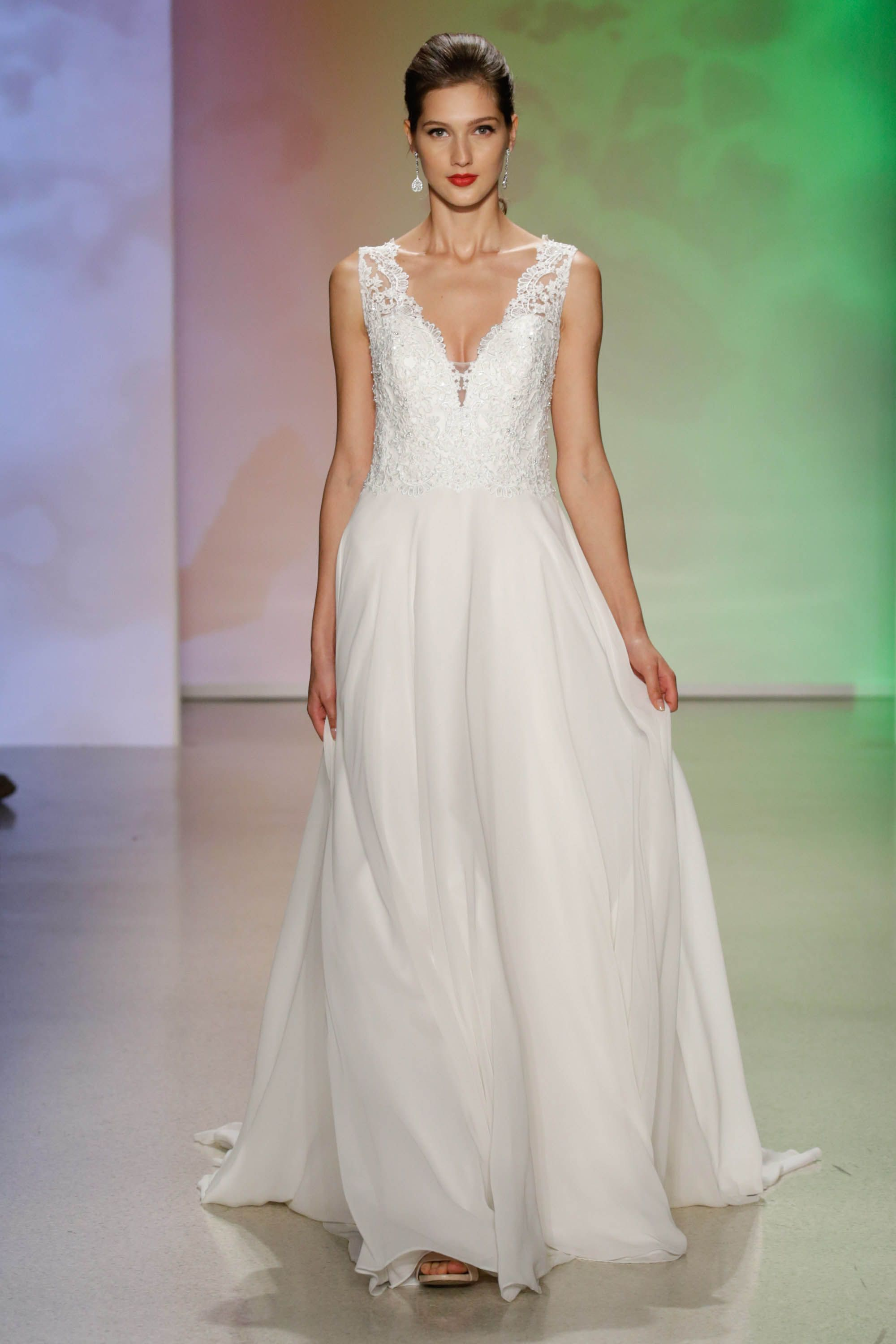 Sleeping beauty inspired gown 2017 disneys fairy tale weddings sleeping beauty inspired gown 2017 disneys fairy tale weddings by alfred angelo collection ombrellifo Gallery
