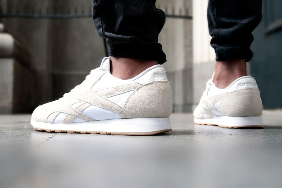 reebok classic suede mens trainers