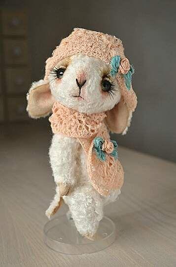 "Teddy Bear stile viscose Lamb "" Peach & By Oksana Antonenko - Bear Pile"
