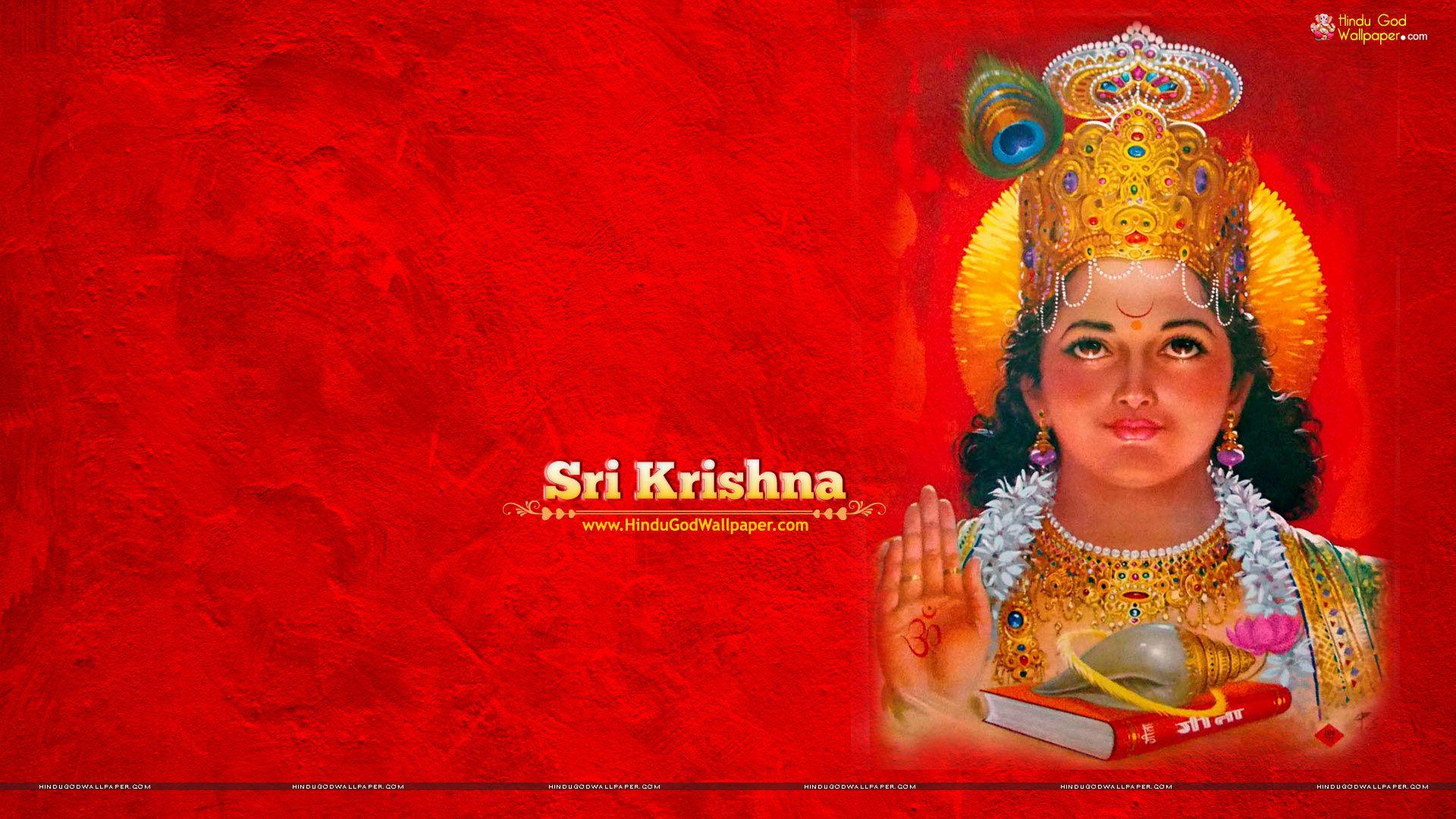 Krishna Wallpaper 1920x1080 HD Full Size Download | Lord