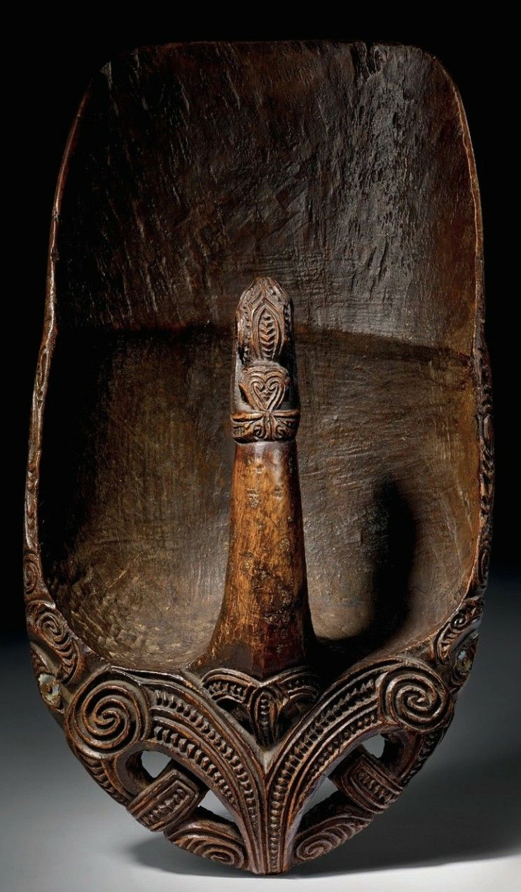 Maori canoe bailer oceanic cultues pinterest maori maori art