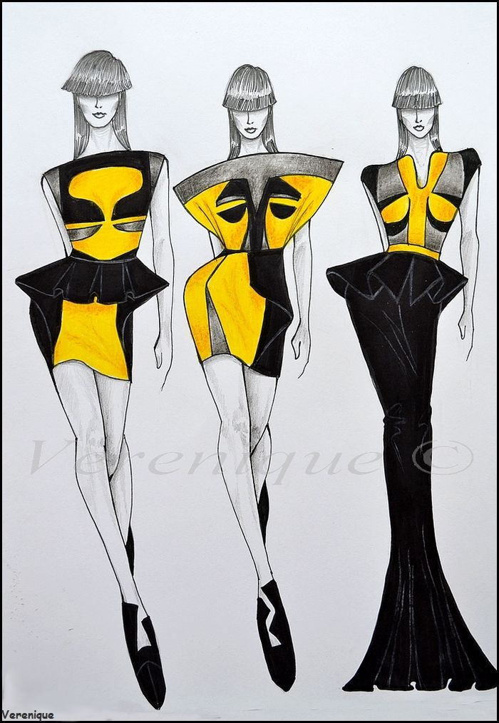 Small collection of dresses 1. by Verenique.deviantart.com on @deviantART