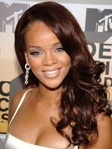 Rihanna Brown look