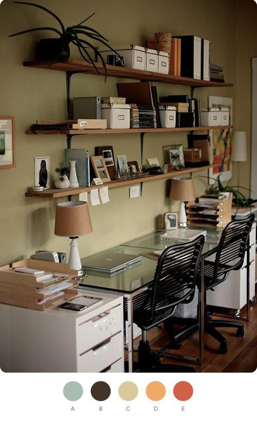 nice home office!