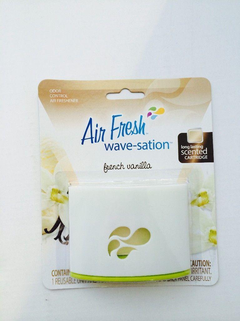 Air Fresh Wave-Satin French Vanilla Case Pack 72