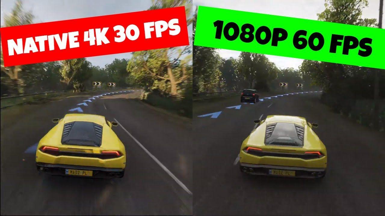 Xbox One X 1080p 60 Fps Vs 4k 30 Fps Forza Horizon 4 Forza Horizon 4 Forza Horizon Xbox One Is 1080p or 1440p better for gaming