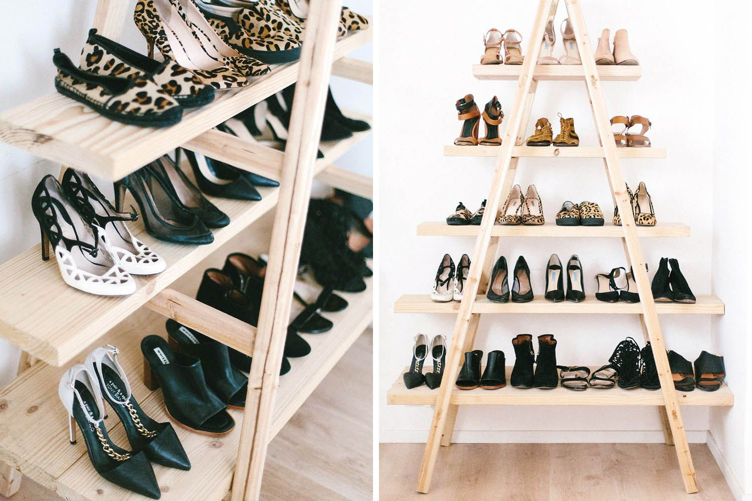Beau Behind The Door Shoe Storage // Shoe Organizing And Storage Ideas //  Organized Home // Storage Solutions // Closet Organizing // Small Space //  DIY Shoe ...