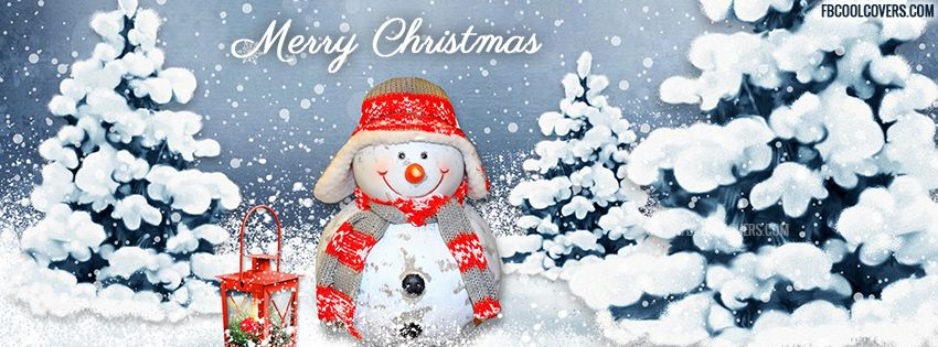 Snowman Merry Christmas 2015 Facebook Cover | Christmas ...