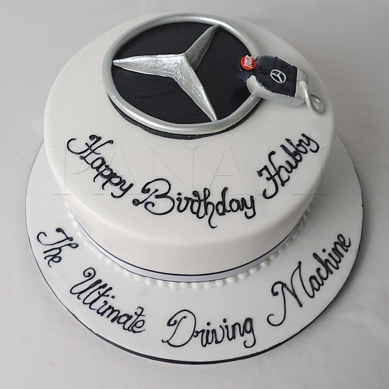 Mercedes Benz Logo Cake Bs2220 Cars Birthday Cake Car Cake Car Cakes For Men