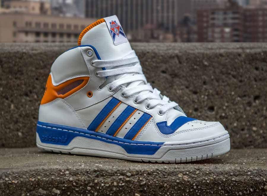 Adidas Attitude Hi Top Retro New York Knicks de Baloncesto