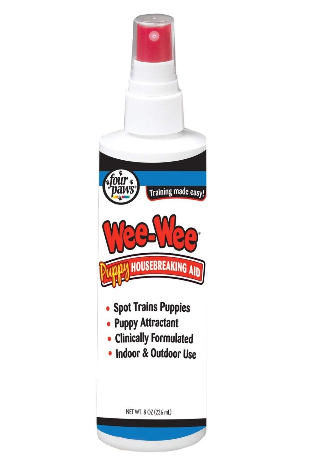 Four Paws Wee Wee Housebreaking Aid 8 Ounce Pump Spray Single