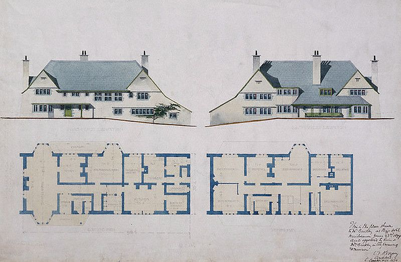 Irfanview Html Thumbnails Vintage House Plans Arts And Crafts House Architecture Old