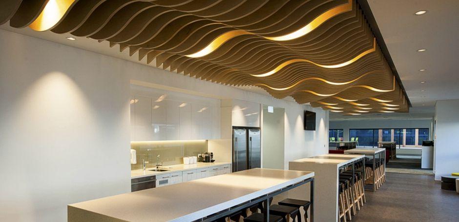 supaslat custom blade ceiling feature