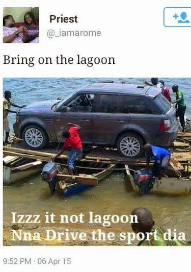 Josh Kolade's Blog: See hilarious Lagoon tags & tweets as Nigerian twi...