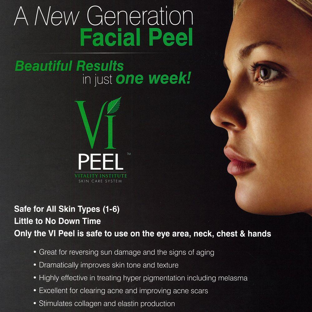 Vi Peel Vitality Institute Skin Care Exfoliation Serious Skin Care Skin Care
