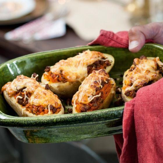 Gegratineerde aardappel met zuurkool en pestoroom - Voor een vegetarische kerst maak je deze heerlijke, gegratineerde aardappels. #kerst #hoofdgerecht #JumboSupermarkt
