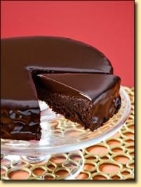 Chocoladen-Kuchen - Rezept mit Bild