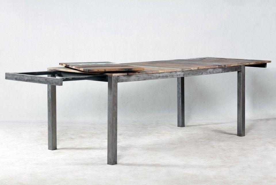 Table Rectangulaire Avec Rallonges Edito Table Salle A Manger