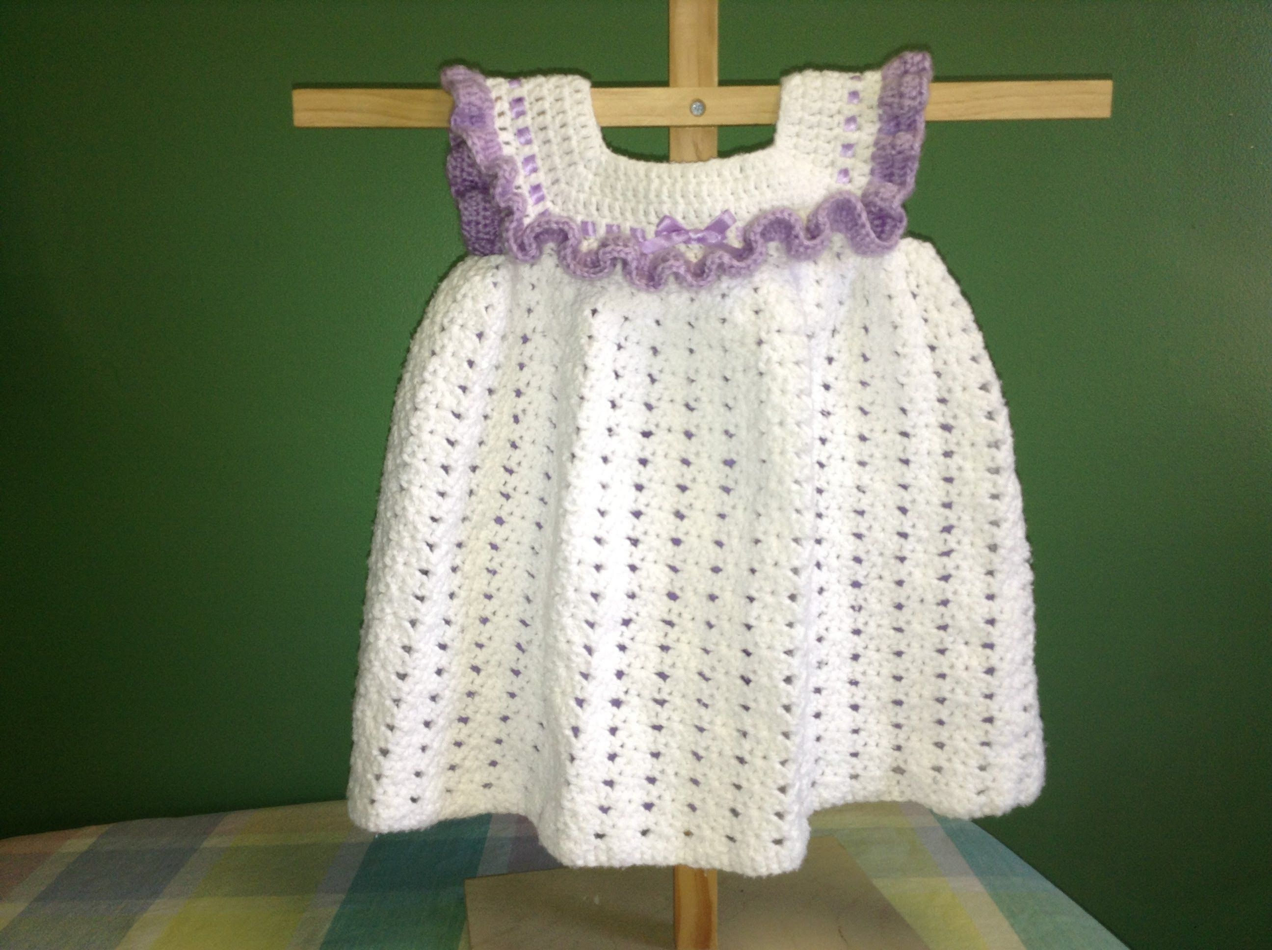 How to crochet a dress easy and quick teresa restegui http crochet baby clothes bankloansurffo Choice Image