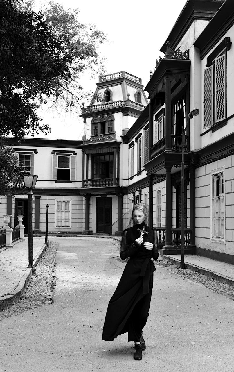 model: patricia van der vliet (society) photographer: alexander neumann (see) stylist: sofia odero (see) hair: angeliki chasalvri make-up: sergio corvacho