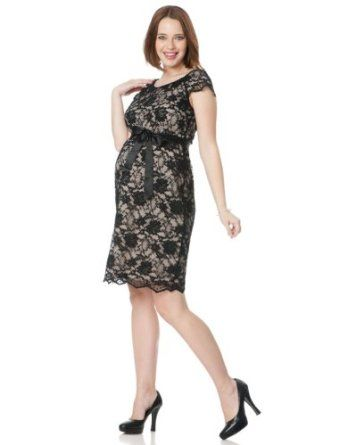 e1a2599b55b71 Motherhood Maternity: Short Sleeve Tie Detail Maternity Dress Motherhood  Maternity. $49.98