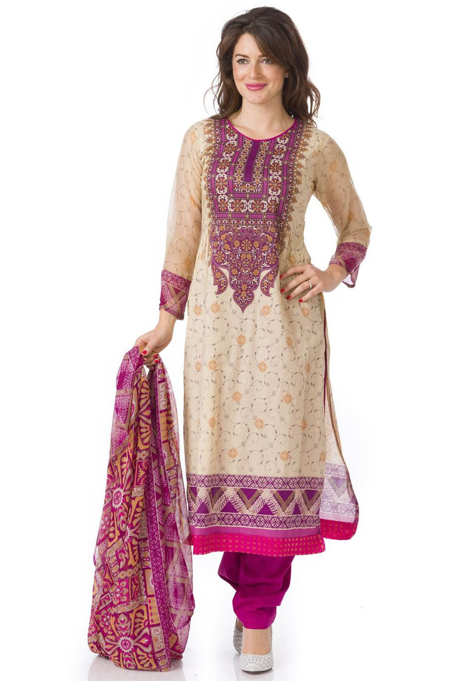 Lawn cotton Salwar Suits - 32327 : Rupali Online | bollywood ...