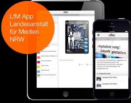 Orientierung im Mediendschungel durch die App der Landesanstalt für Medien (LfM) NRW.
