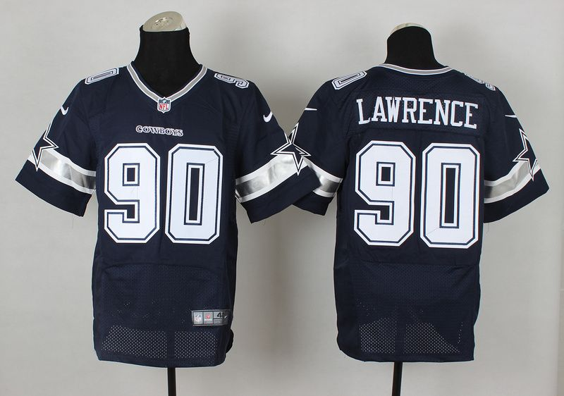 022dea80115 ... NFL Dallas Cowboys 90 Blue Elite Demarcus Lawrence Jersey ...