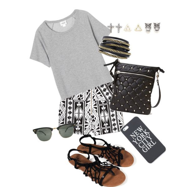 """Dressed Up Tshirt look"" by dzinno on Polyvore"