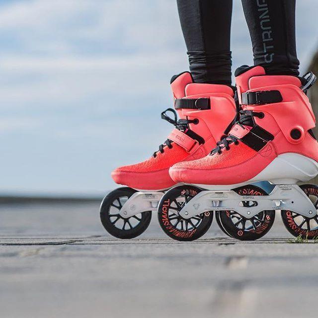 e167e3f6cc2f24 Powerslide SWELL Bright Crimson 110. Now available worldwide. #Powerslide  #PowerslideSwell #triskates #WeLoveToSkate @swell.skate.club
