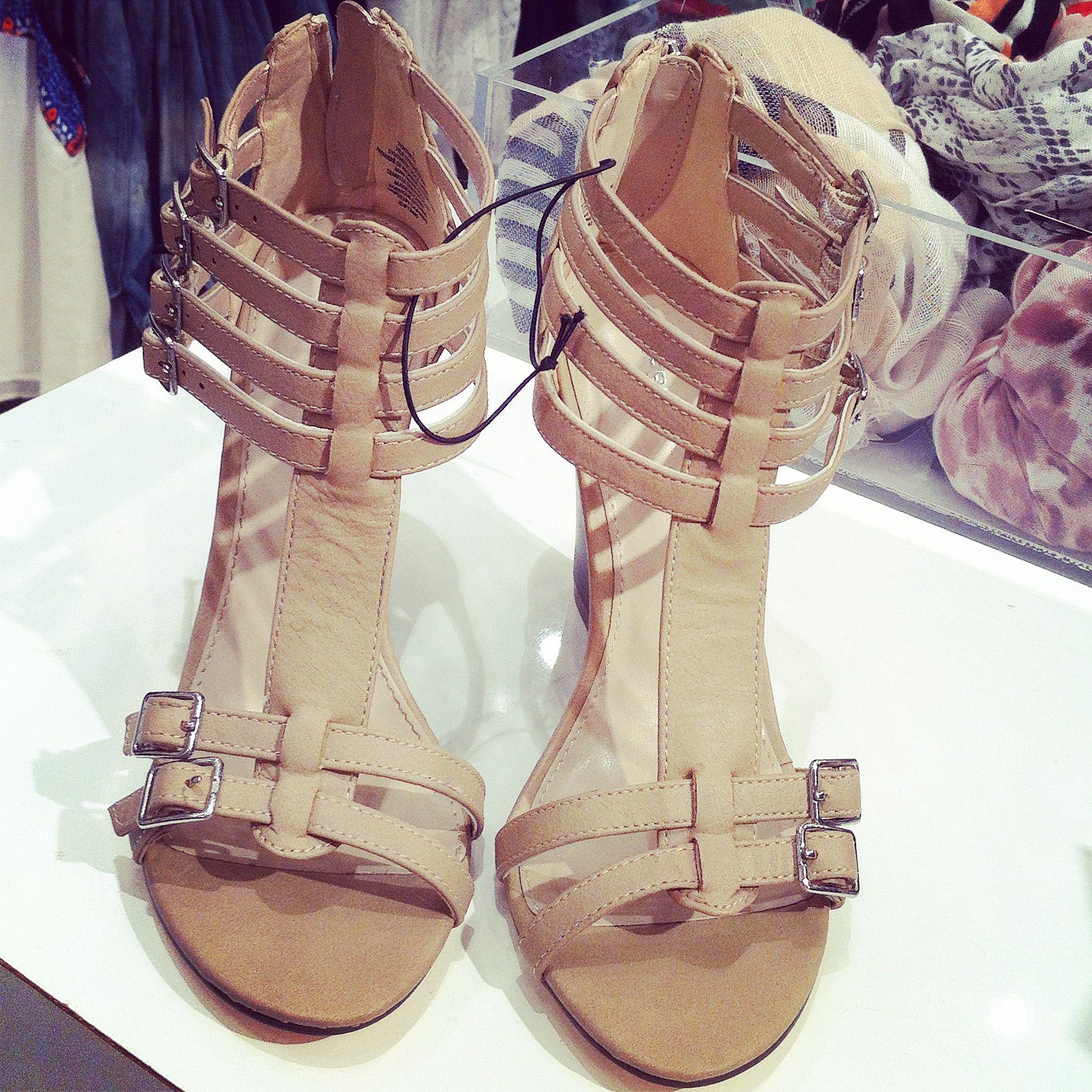 Nude heels :)