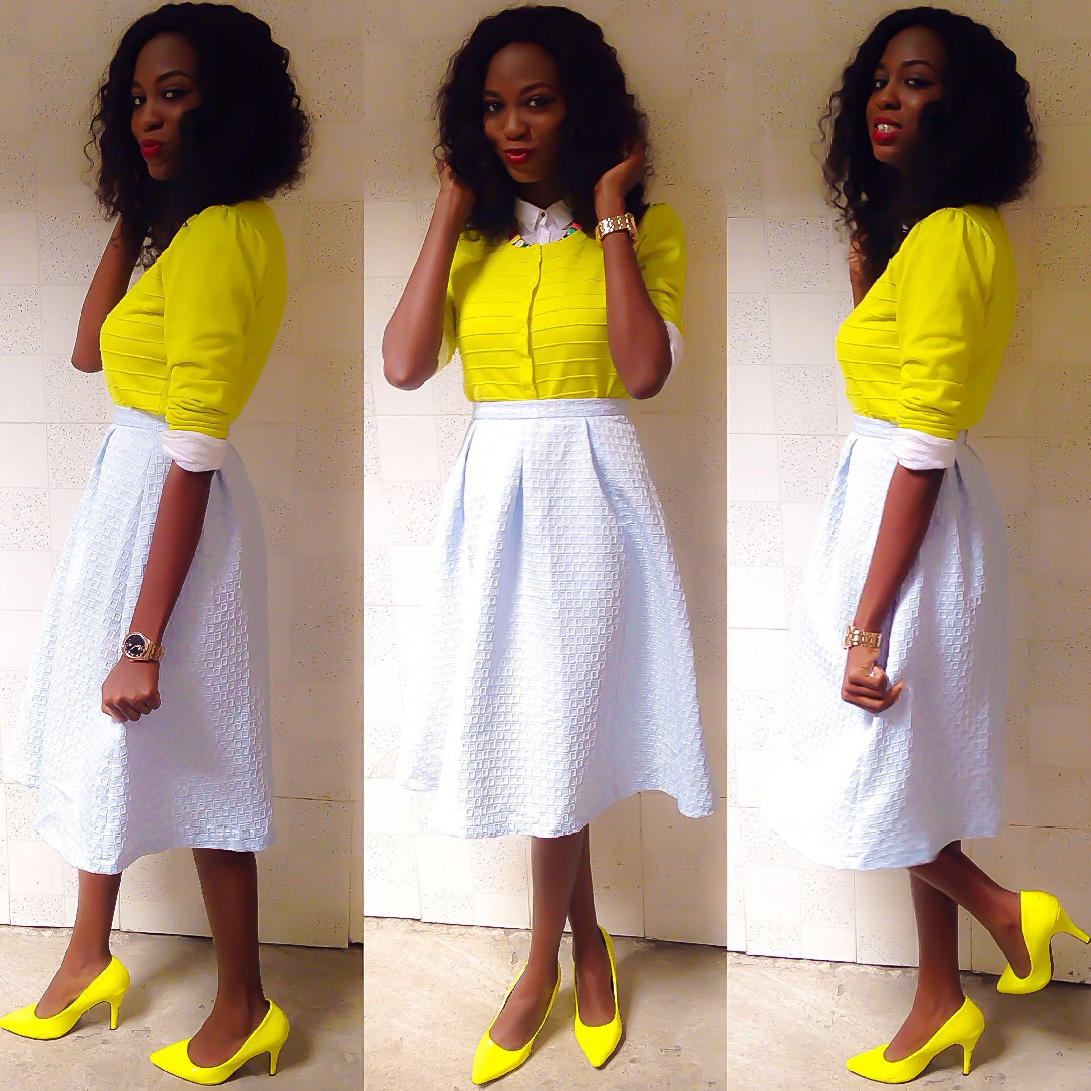 Full midi skirts