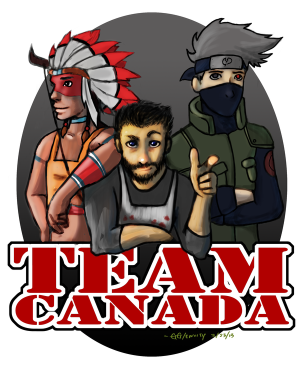 Mindcrack - Team Canada FanArt by GGgunner47 | Minecraft/ Mindcrack