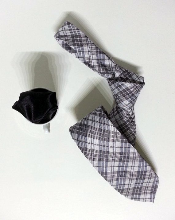 Gray Necktie Gray Men's Tie Gray Cravat Gray Tie by PeraTime #handmadeatamazon #nazodesign