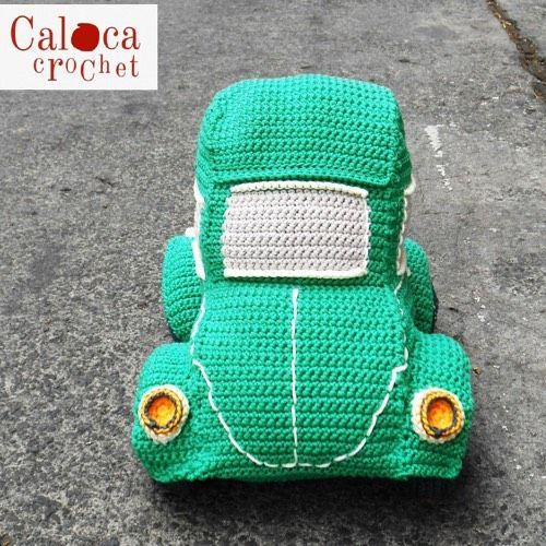 Patrón Coche Escarabajo Beetle | Coche de crochet, Patrón de