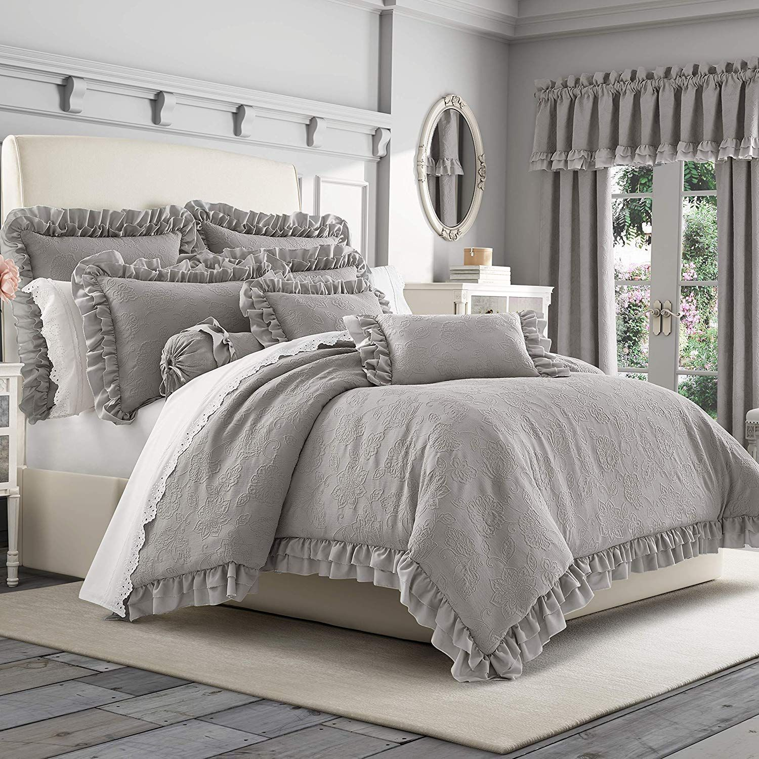 Farmhouse Comforters Rustic Comforters Farmhouse Goals In 2020 Comforter Sets Stylish Bedroom Decor King Comforter Sets