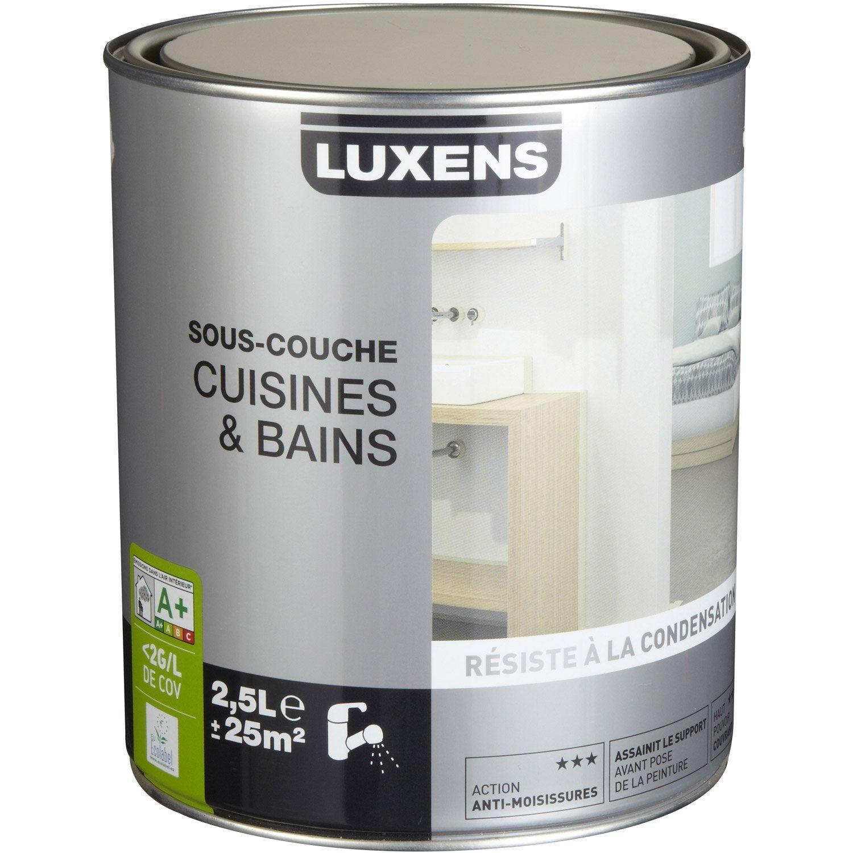 Sous Couche Cuisine Et Bain Luxens 2 5 L Couches Plaque De Platre Et Produits