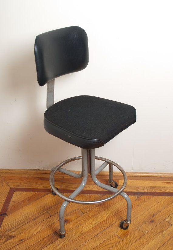 Vintage Industrial Task Chair
