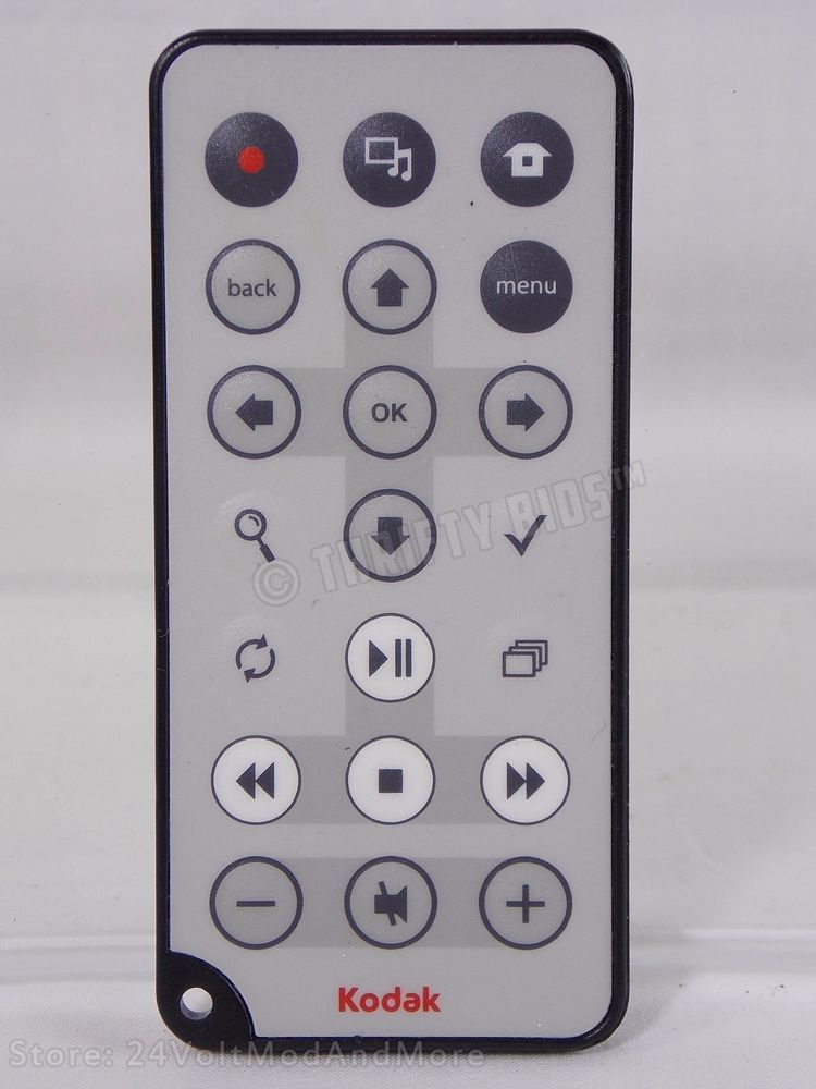 Genuine Kodak Easy Share Digital Picture Frame Remote Control Sv811