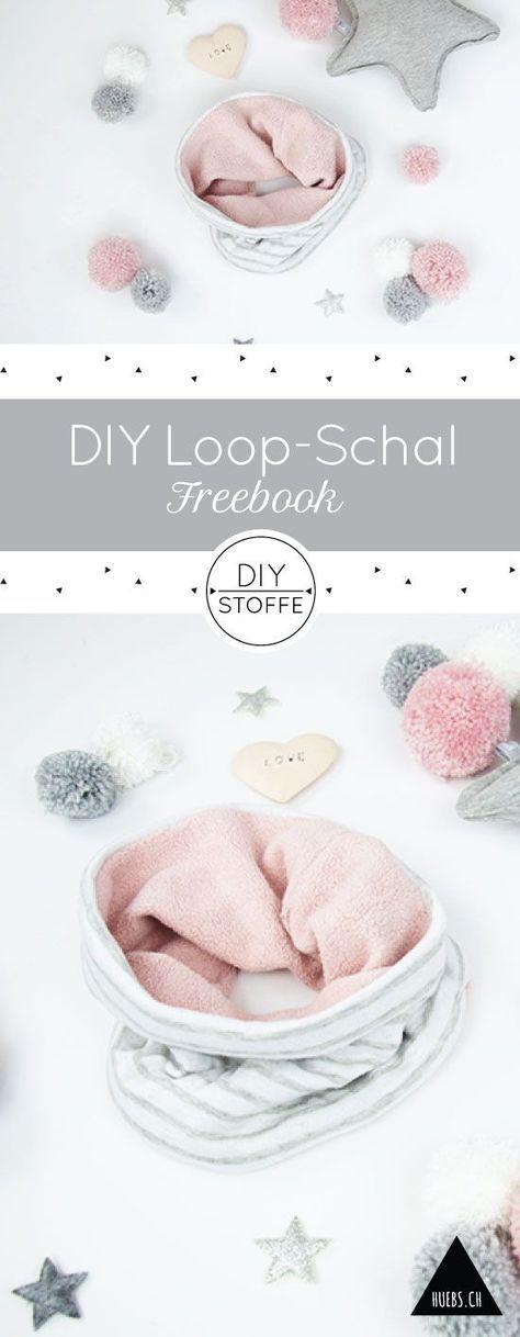 Loop Schal - Anleitung und Schnittmuster #vestidosparabebédeganchillo