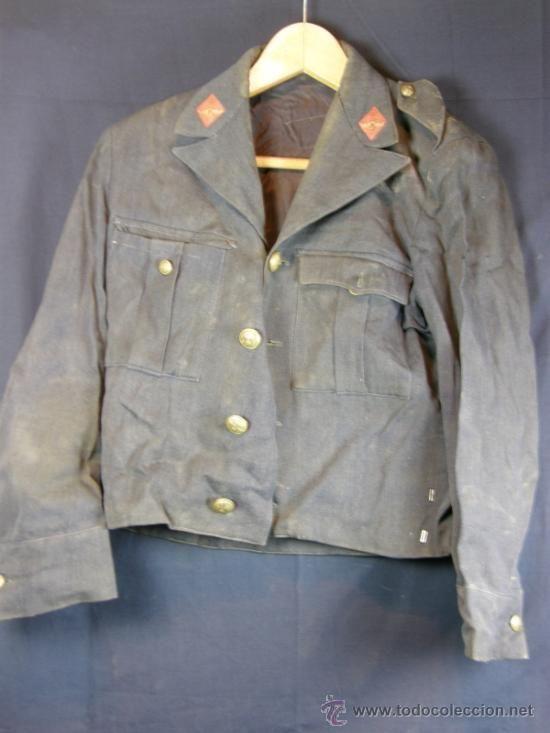 mejor proveedor imágenes oficiales estilo popular chaqueta militar ejercito aire Español botones metal con ...